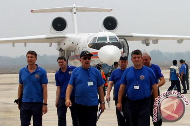 Indonesia thue hai chiec may bay cua Nga de dap tat chay rung hinh anh 1