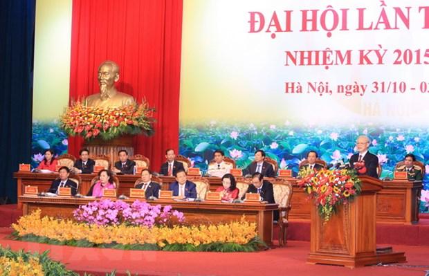 Tong Bi thu: Thu do Ha Noi - Niem tin yeu va su ky vong hinh anh 3