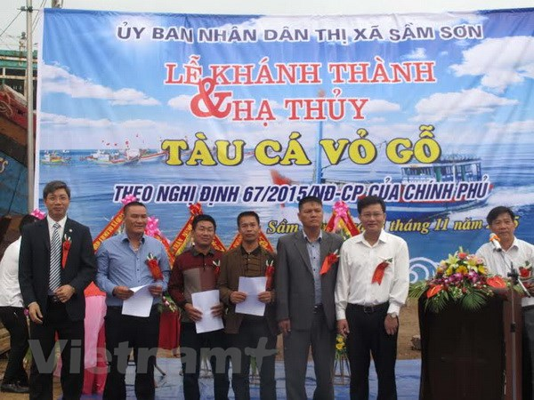 Ngu dan ha thuy tau vo go 12 ty dong dau tien tai tinh Thanh Hoa hinh anh 2