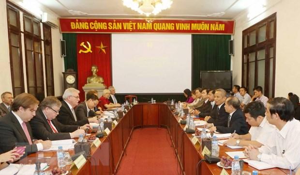 Viet Nam va Nghi vien chau Au hop tac ve lao dong, viec lam hinh anh 1