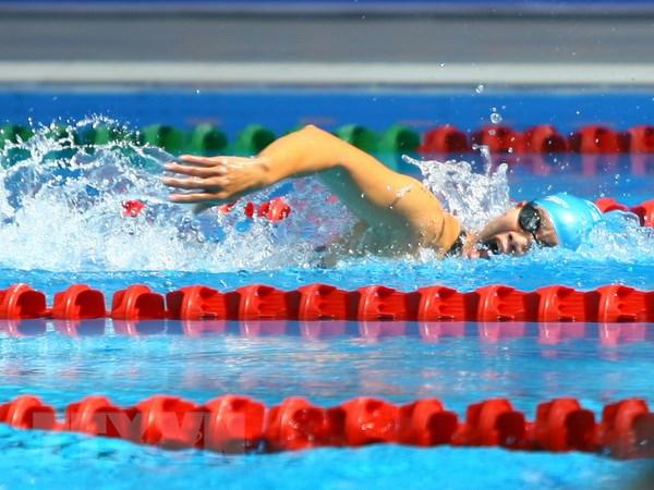 Boi loi gianh 4 HCV, Viet Nam tam dan dau ASEAN Para Games 8 hinh anh 1
