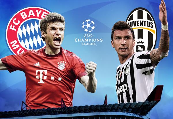 Arsenal cham tran Barcelona, Juventus