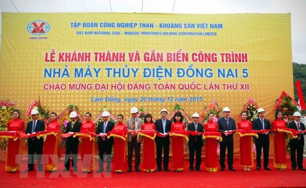 Lam Dong: TKV khanh thanh nha may Thuy dien Dong Nai 5 hinh anh 1