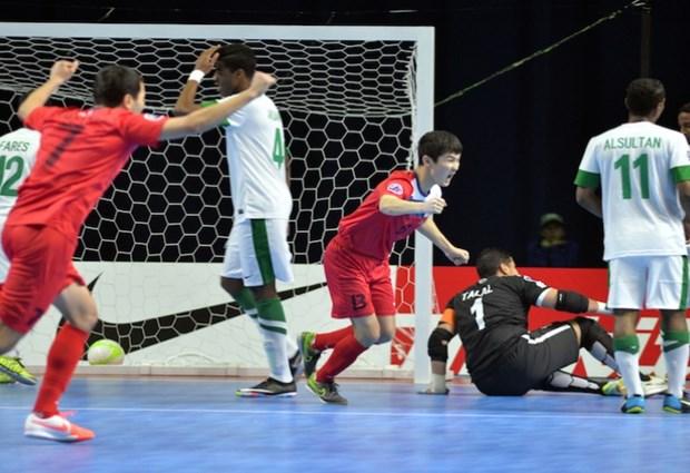 Futsal chau A: Xac dinh xong doi tuyen cuoi cung vao tu ket hinh anh 1