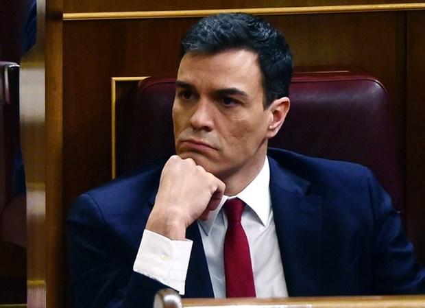 Nghi sy Tay Ban Nha bo phieu phan doi lanh dao dang PSOE hinh anh 1