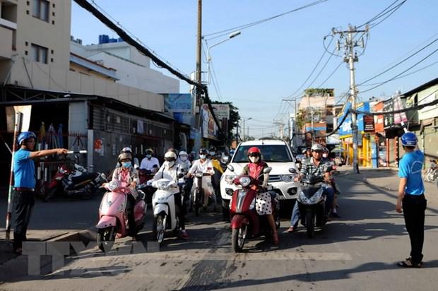 Thanh pho Ho Chi Minh chan chinh nan don tra khach trai phep hinh anh 1