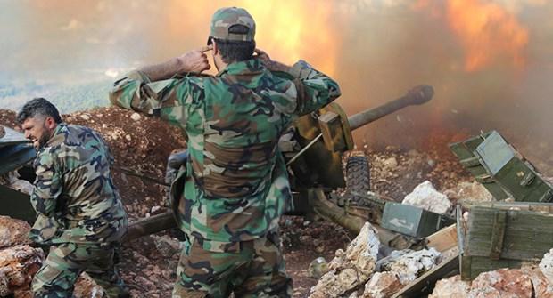 Syria tieu diet 400 phien quan IS o tran chien gianh lai Palmyra hinh anh 1