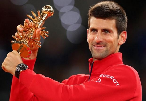 Truat ngoi Murray, Novak Djokovic dang quang Madrid Open hinh anh 1