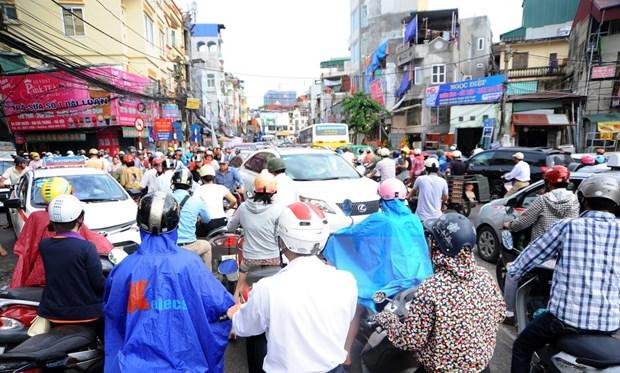 [Video] Thanh pho Ha Noi se han che xe may vao nam 2025 hinh anh 1