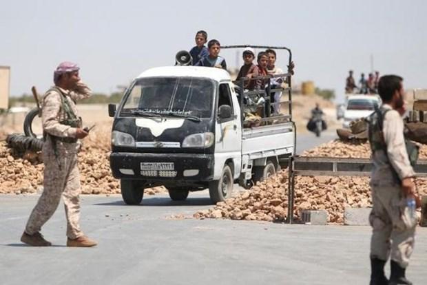 Syria: Luc luong do My hau thuan kiem soat 40% dien tich Manbij hinh anh 1