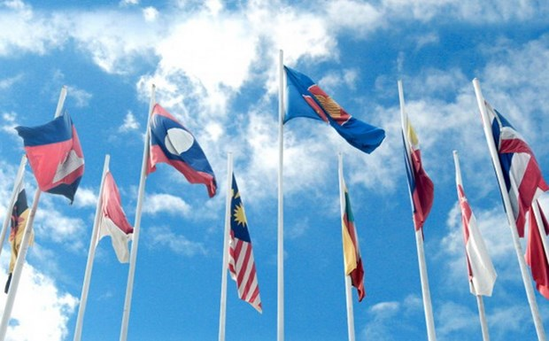 Lao to chuc di bo vi suc khoe ky niem 49 nam thanh lap ASEAN hinh anh 1