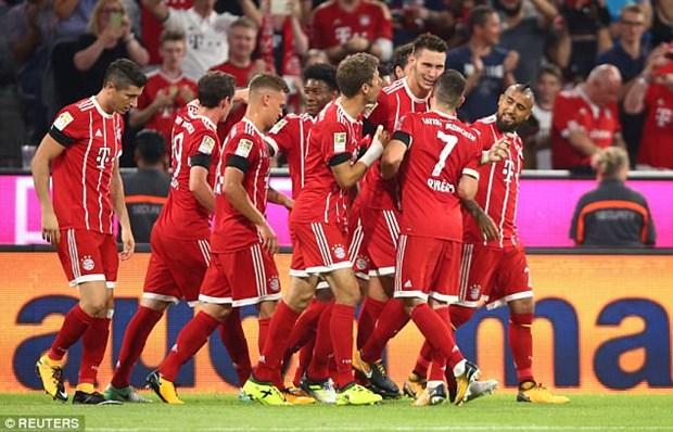 Bayern Munich danh bai Leverkusen o ngay ra quan Bundesliga hinh anh 1