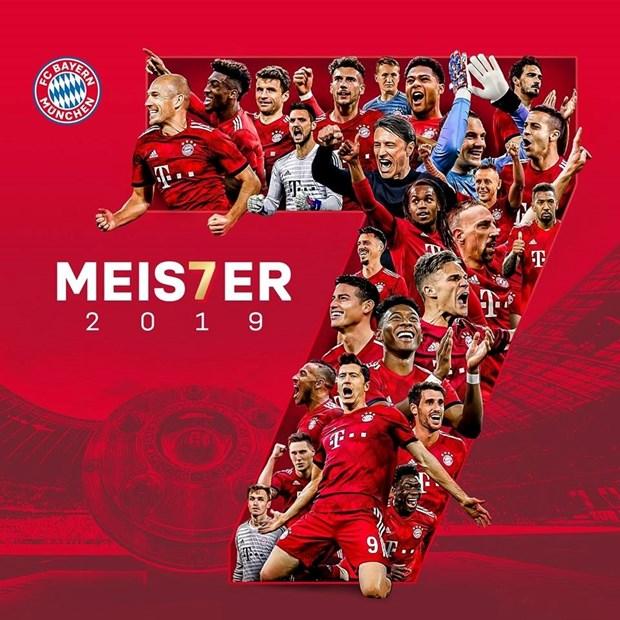 Nhin lai 7 mua giai lien tiep vo dich Bundesliga cua Bayern hinh anh 1