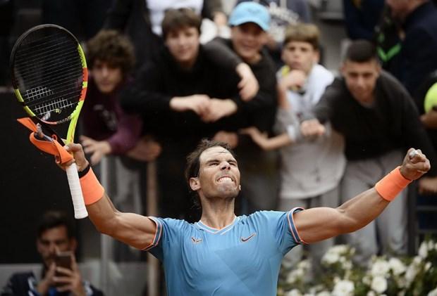 Rafael Nadal 'dai chien' Novak Djokovic o chung ket Rome Masters hinh anh 1