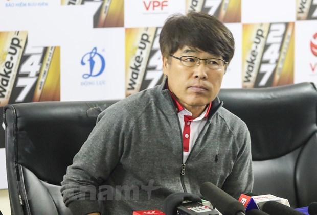 Huan luyen vien Viettel: 'Chung toi van con non not tai V-League' hinh anh 1