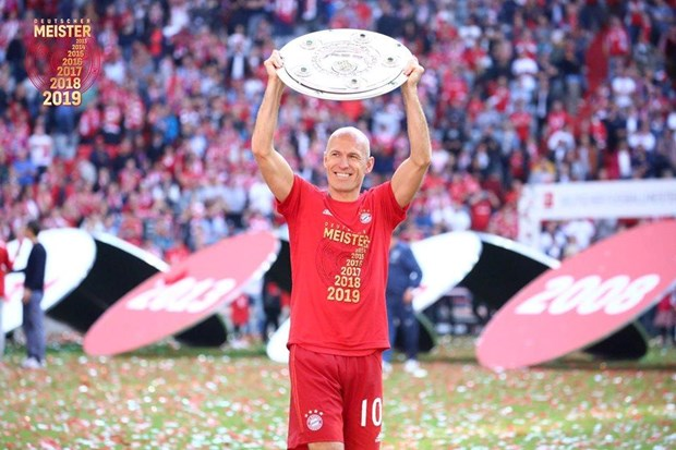 Ribery, Robben va nhung ky luc an tuong cua Bayern Munich hinh anh 2