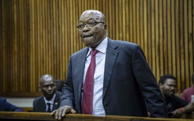 Cuu Tong thong Nam Phi Jacob Zuma ra toa lan thu 4 hinh anh 1
