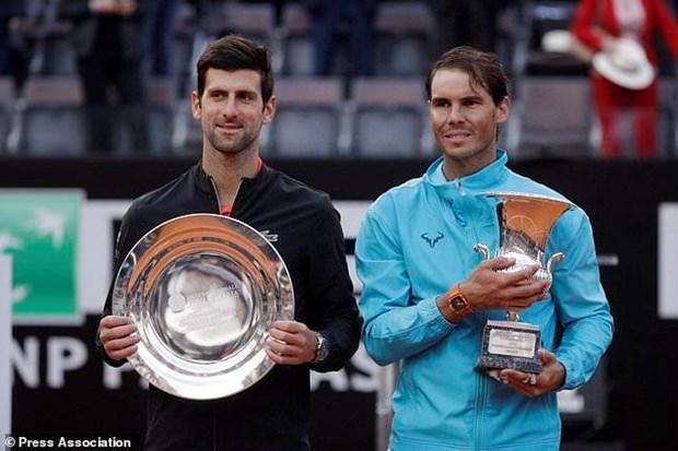 Ha Novak Djokovic, Nadal lan thu 9 len ngoi tai Rome Masters hinh anh 1