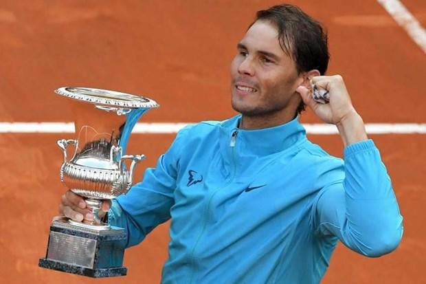 Can canh Nadal thang Djokovic set trang, len ngoi tai Rome Masters hinh anh 1