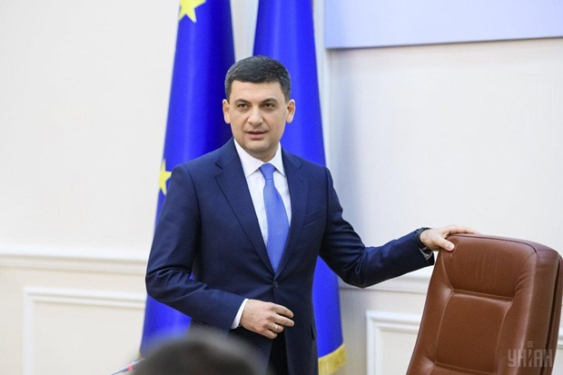 Thu tuong Ukraine Volodymyr Groysman quyet dinh tu chuc hinh anh 1
