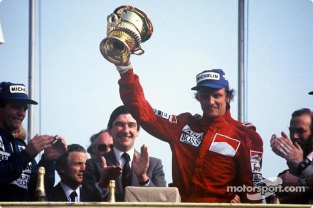 Tay dua F1 huyen thoai 3 lan vo dich Niki Lauda qua doi o tuoi 70 hinh anh 1