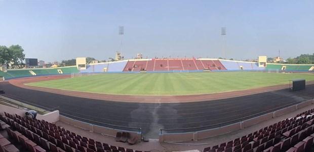 Chot san van dong to chuc tran dau U23 Viet Nam - U23 Myanmar hinh anh 1