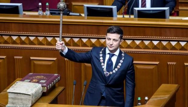 Tong thong Ukraine keu goi to chuc bau cu Quoc hoi som hinh anh 1