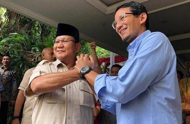 Bau cu Indonesia: Cap ung cu vien Prabowo-Sandiaga nop don kien hinh anh 1