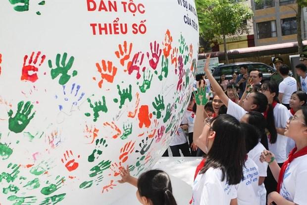 Pho Thu tuong Vu Duc Dam du Le phat dong Thang hanh dong vi tre em hinh anh 1