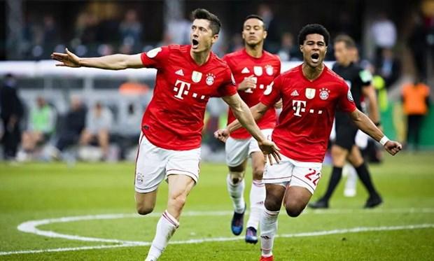 Thang dam RB Leipzig, Bayern Munich lan thu 19 vo dich DFB Cup hinh anh 1