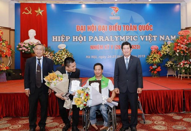 Vinh danh cac van dong vien Paralympic Viet Nam dat thanh tich cao hinh anh 1