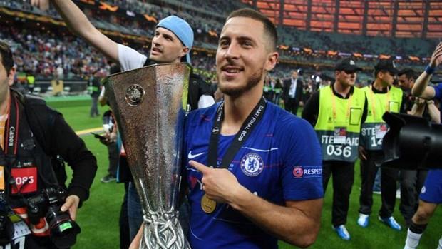 Vo dich Europa League, Eden Hazard xac nhan chia tay Chelsea hinh anh 1