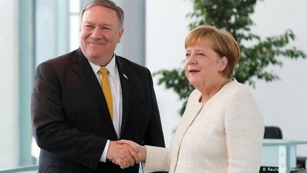 Thu tuong Angela Merkel danh gia ve moi quan he giua My va Duc hinh anh 1