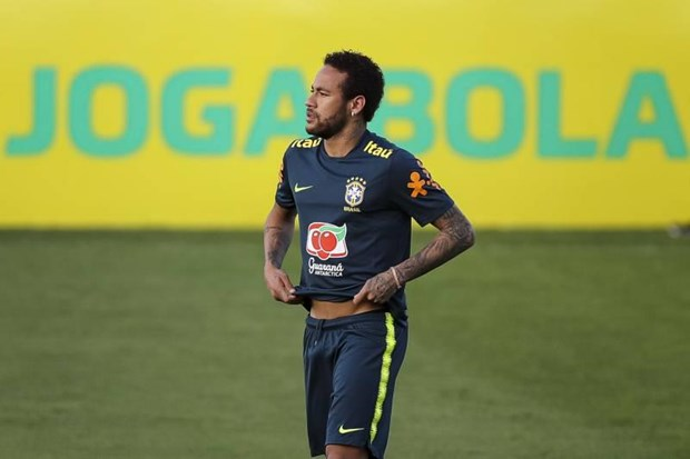 Neymar van luyen tap chuan bi Copa America du bi cao buoc hiep dam hinh anh 1