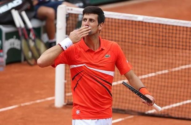 Novak Djokovic 'toc hanh' vao vong tu ket Roland Garros 2019 hinh anh 1