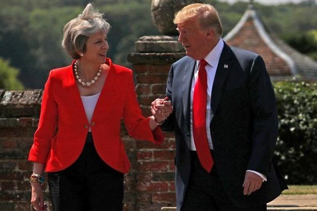 Anh va My muon tien den mot thoa thuan thuong mai sau Brexit hinh anh 1