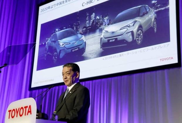Toyota dat muc tieu ban khoang 5,5 trieu oto dien vao nam 2025 hinh anh 1
