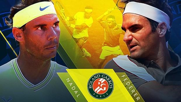 Nhin lai nhung man 'dai chien' Nadal - Federer o Roland Garros hinh anh 1