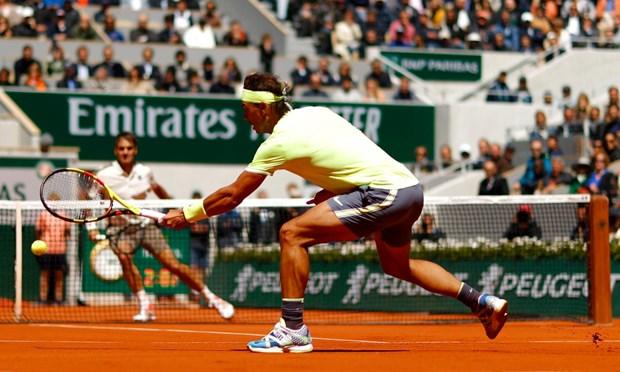 Danh bai Federer, Nadal lan thu 12 vao chung ket Roland Garros hinh anh 2