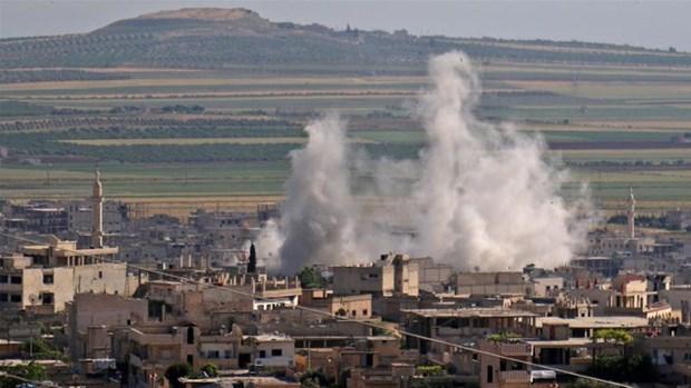 Nga tien hanh 4 cuoc khong kich chong lai phien quan tai Idlib hinh anh 1