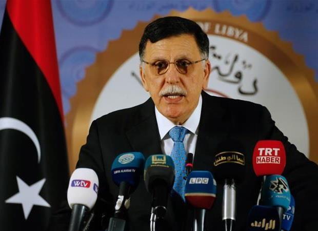 Libya: Thu tuong GNA Fayez al-Serraj keu goi to chuc bau cu som hinh anh 1