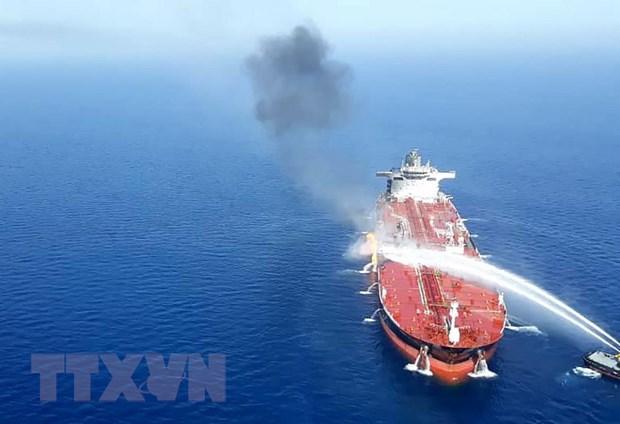 Sự cố tàu trên Vịnh Oman: Nga cảnh báo những cáo buộc vô căn cứ - 1