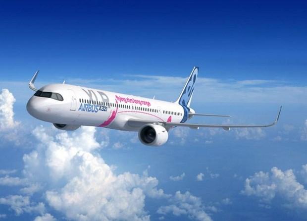 Airbus ra mau may bay moi tai Trien lam Hang khong Paris hinh anh 1