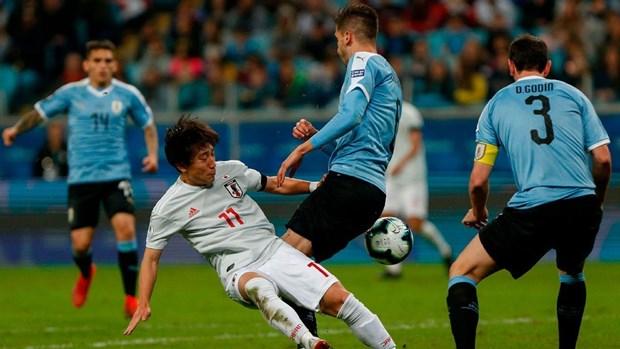 Copa America 2019: Khach moi Nhat Ban cam hoa Uruguay hinh anh 1