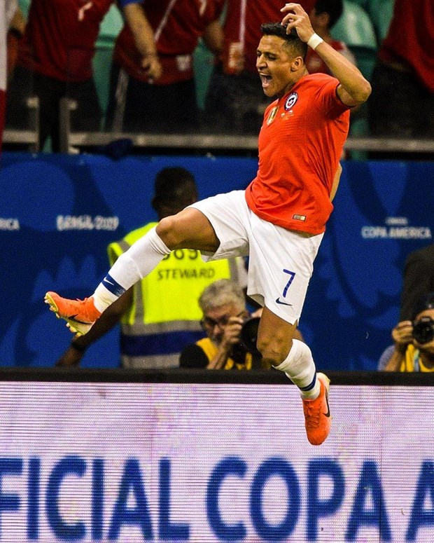 Alexis Sanchez toa sang dua Chile vao tu ket Copa America 2019 hinh anh 1