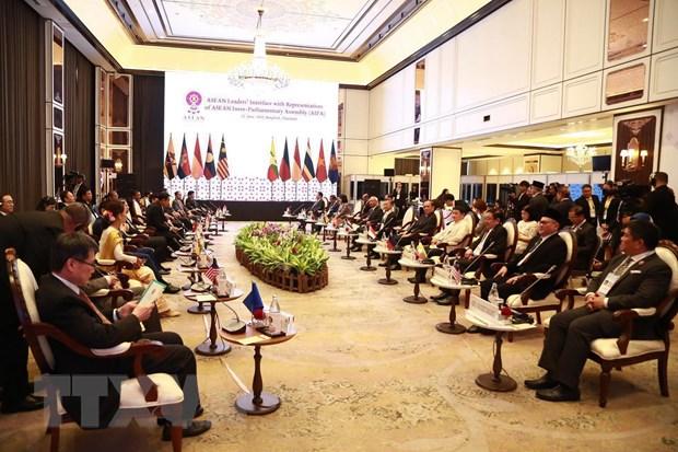 Lanh dao cap cao ASEAN gap dai dien Hoi dong lien nghi vien ASEAN hinh anh 2