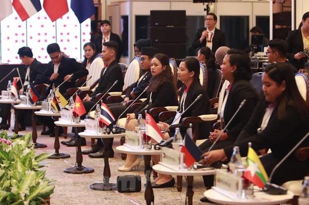 Lanh dao cap cao ASEAN gap dai dien Hoi dong lien nghi vien ASEAN hinh anh 1