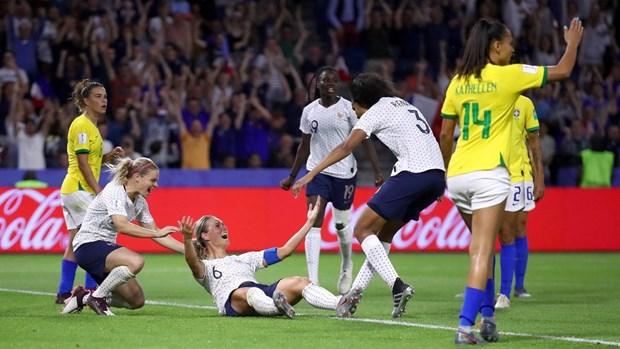World Cup nu 2019: Phap loai Brazil sau 120 phut cang thang hinh anh 1