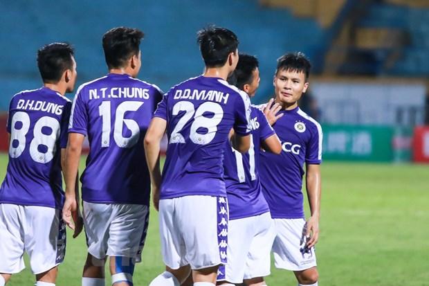 Ha Ceres Negros, Ha Noi FC thang tien vao chung ket AFC Cup hinh anh 2