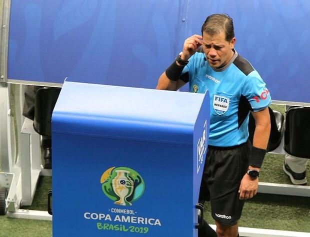 Copa America 2019: CONMEBOL danh gia tich cuc viec su dung VAR hinh anh 1